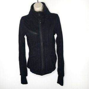 Lululemon Its Happening Black Jacket Full Zip 6